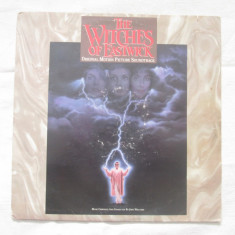 John Williams ‎– The Witches Of Eastwick ( Soundtrack) (LP) Germania - Muzica soundtrack Altele, VINIL