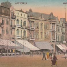 CONSTANTA, CENTRUL OVIDIU, 1929 - Carte Postala Dobrogea dupa 1918, Circulata, Printata