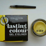 EYELINER GEL REZISTENT LA TRANSFER AURIU COLLECTION 2000 LASTING GEL EYELINER