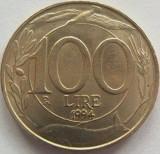 Moneda 100 Lire - ITALIA, anul 1994 *cod 1352 a.UNC, Europa