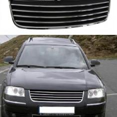 Grila NEGRU-CROM VW Passat 3BG - Grile Tuning, Volkswagen, PASSAT (3B3) - [2000 - 2005]