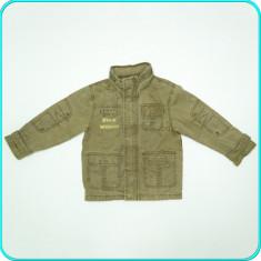 Geaca blugi, cu gluga, primavara-toamna, BONITO _ baieti | 5-6 ani | 110-116 cm, Marime: Alta, Culoare: Khaki
