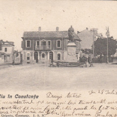 CONSTANTA    PIATA   OVIDIU  CLASICA  CIRCULATA   AUG. 1905, Printata
