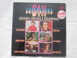 Various – Six Superstars _ vinyl(LP,compilatie) UK easy listening