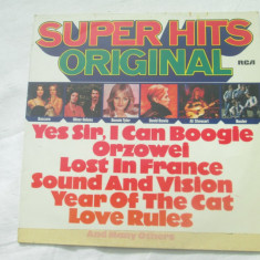 Various ‎– Super Hits Original _ vinyl(Lp, compilatie) Germania - Muzica Pop rca records, VINIL