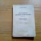 IZVOARELE ISTORIEI ROMANILOR * Gotii in Dacia - vol.XII-XIV - G. Popa-Lisseanu