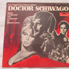 Maurice Jarre ‎– Doctor Schiwago:Soundtrack _ vinyl(LP) Germania - Muzica soundtrack Altele, VINIL