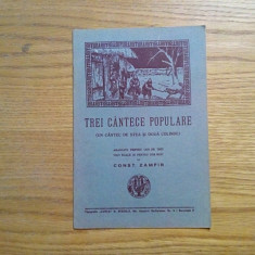 TREI CANTECE POPULARE * Un Cantec de Stea si doua Colinde - Const. Zamfir