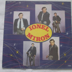 Ionel Miron – Ionel Miron _ vinyl(LP, album) Romania - Muzica Pop electrecord, VINIL