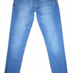 GSUS SINDUSTRIES - (MARIME: 26 x 32) - Talie = 76 CM, Lungime = 102 CM - Blugi dama Mustang, Culoare: Albastru, Skinny, Joasa