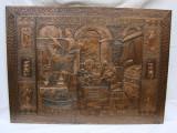 Raritate!!! Impresionanta metaloplastie pe foita de cupru Johannes Kepler 1571