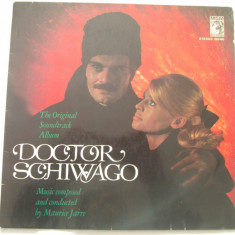 Maurice Jarre ‎– Doctor Schiwago :Soundtrack _ vinyl (LP) Germania - Muzica soundtrack Altele, VINIL
