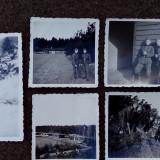 LOT 5 FOTOGRAFII MILITARI GERMANI -TRUPELE RAD - Fotografie veche
