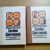 LIMBA GERMANA * Curs Practic- Ioan Lazarescu, Emilia Savin - 2 volume, 1985 - Curs Limba Germana