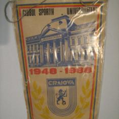 Fanion / Universitatea Craiova, 40 de ani de la infiintarea clubului, anii 80