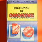 DICTIONAR OMONIME Ghe Bulgar