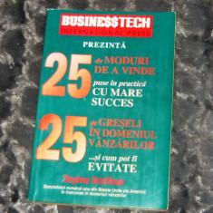25 moduri de a vinde - 2+1 gratis - CA35 - Carte de vanzari