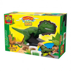 Plastilina Super Clay Dino T-Rex - Jocuri arta si creatie SeS