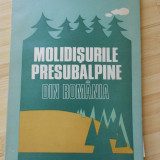 CONSTANTIN BINDIU--MOLIDISURILE PRESUBALPINE DIN ROMANIA - Carte Geografie