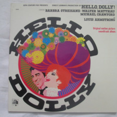 Barbra Streisand ‎– Hello Dolly! : soundtrack _ vinyl(LP) Franta - Muzica soundtrack Altele, VINIL
