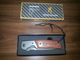 Cutit (briceag) Browning cu maner de lemn - 60 lei