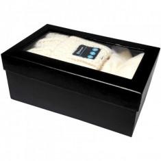 Accesoriu GSM Serioux Set caciula cu casti bluetooth si manusi touchscreen, alb