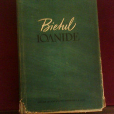 George Calinescu Bietul Ioanide, ed. princeps, 1953, ilustratii Corneliu Baba - Carte Editie princeps