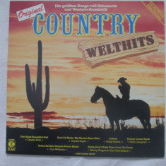 Various ‎– Original Country Welthits _ vinyl(LP) Germania - Muzica Country Altele, VINIL