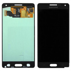 Ansamblu Lcd Display Touchscreen touch screen Samsung Galaxy A5 A500F Black Negru ORIGINAL - Display LCD