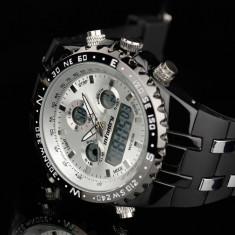 Ceas Infantry, ceas militar, ceas alb, sport, ceas digital, nou - Ceas barbatesc, Electronic