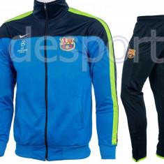 Trening NIKE FC BARCELONA - Bluza si Pantaloni Conici - Pret special - FCB31 - Trening barbati, Marime: S, M, L, XL, XXL, Culoare: Din imagine