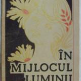 ION LETU - IN MIJLOCUL LUMINII (VERSURI, 1989) [coperta & desene GEORGE SCUTARU] - Carte poezie