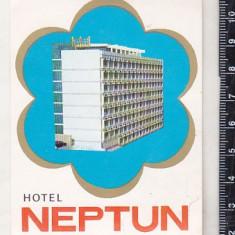 bnk div Eticheta veche Hotel Neptun Neptun-Romania