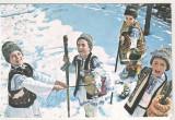 bnk cp Romania - felicitare tematica sarbatori de iarna