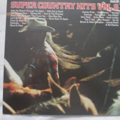 Various – Super Country Hits Vol. 6 _ vinyl(LP) Germania - Muzica Country rca records, VINIL