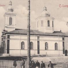 CAMPULUNG, C. -LUNG, BISERICA LA RUCAR - Carte Postala Muntenia 1904-1918, Necirculata, Printata