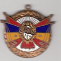 Insigna Distins cu diploma de onoare a CC al UTM – partea inferioara