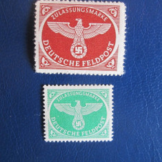 TIMBRE GERMANIA REICH 1942, Nestampilat