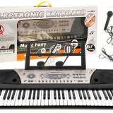 Orga electronica MQ-810USB Boxe, MP3, USB, Microfon Claviatura 61clape
