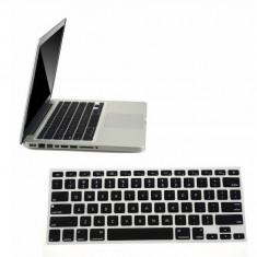 Husa de protectie pt tastatura US Macbook Pro Air Retina 13 15 17 NEAGRA / NEGRU - Husa laptop