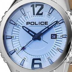 Ceas Police Vice PL-13592JS-04 - Ceas barbatesc Police, Casual, Quartz, Inox, Piele, Data