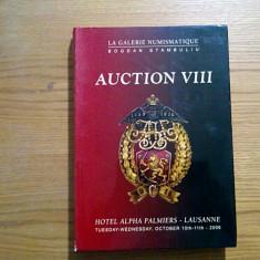 AUCTION VIII * La Galerie NUMISMATIQUE - Bogdan Stambuliu - Lausanne, 2006, 508p - album clasor