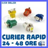 LED LEDURI BORD INTERIOR B8.5D - 1 SMD 5050 - ALB, ALBASTRU, VERDE, ROSU, GALBEN