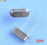 10 buc x Cristal de Quartz 20.000 MHZ HC-49S