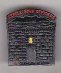 bnk ins Franta - Insigna militara  - Cercle sous officiers de garnison Verdun