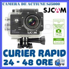 CAMERA DE ACTIUNE SPORT SJ5000 WIFI, FULL HD 1080P, 14 MPX, ACCESORII DE FIXARE