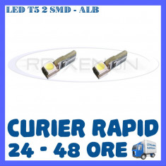 BEC AUTO LED LEDURI BORD T5 - 2 SMD 5050 - BORD, INTERIOR, ANGEL EYES ZDM, Universal