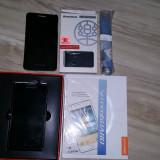 Telefon dual sim LENOVO P780 IN CUTIE + Husa Piele Flip Neblocat