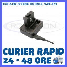 INCARCATOR DUAL DUBLU PT. CAMERA SJCAM SJ4000, SJ5000, SJ5000+, SJ5000X, M10