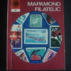 AUREL CRISAN - MAPAMOND FILATELIC * CALEIDOSCOP 92